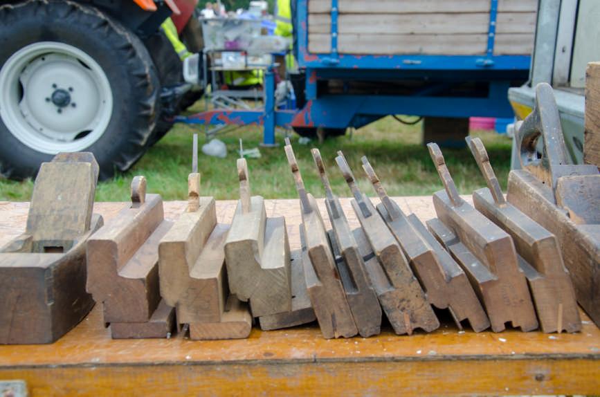 old wood tools