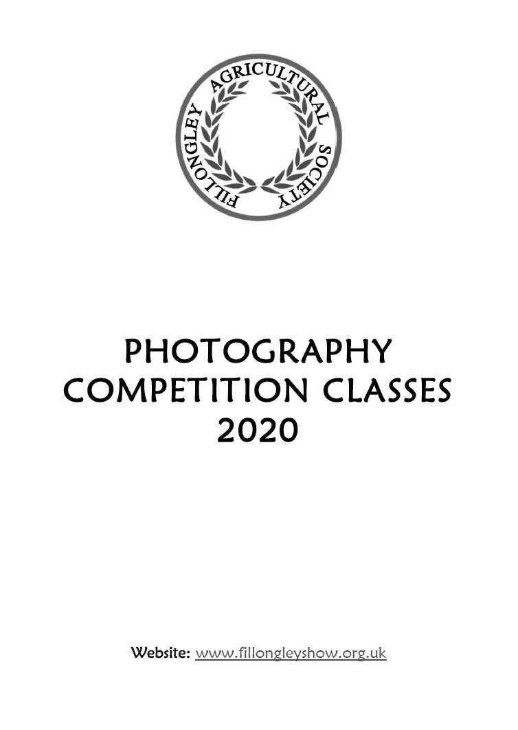 Photography Competition Schedule 2020